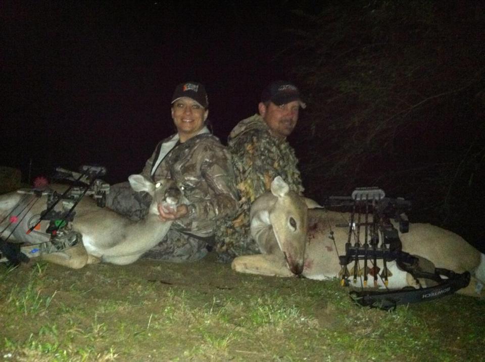 Two doe in archery