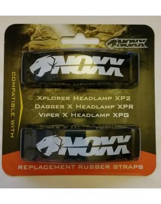 REPLACEMENT RUBBER STRAPS - XPLORER HEADLAMP